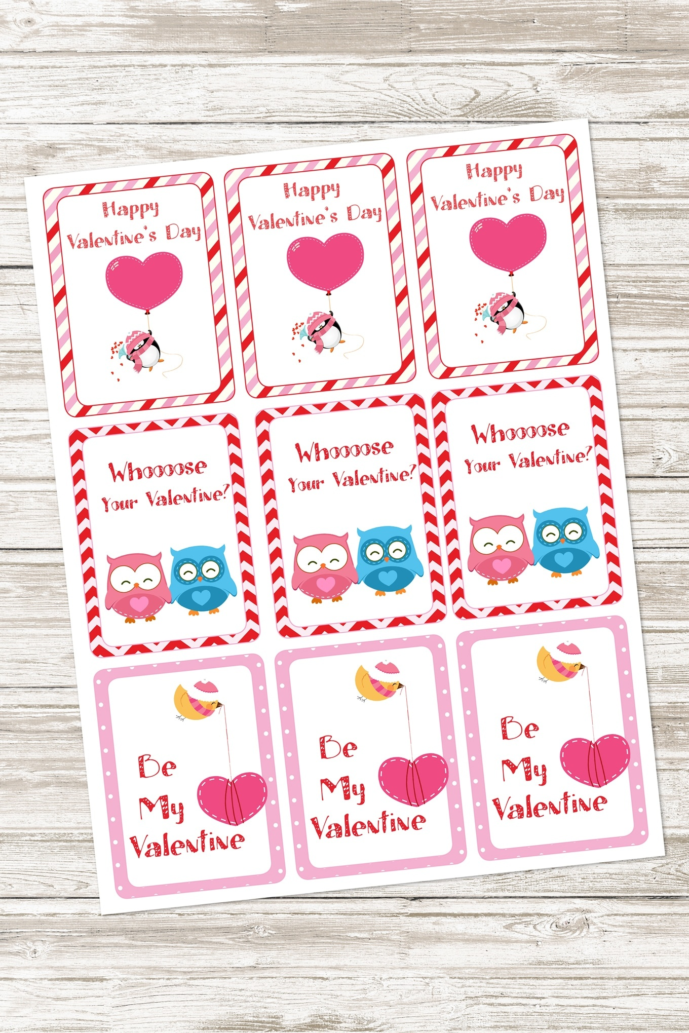 Free Valentine's Day Activity Pack For Kids - Free Printable Valentines For Kids
