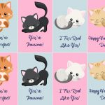 Free Valentine's Day Printables! | Budget Earth   Free Printable Cat Valentine Cards
