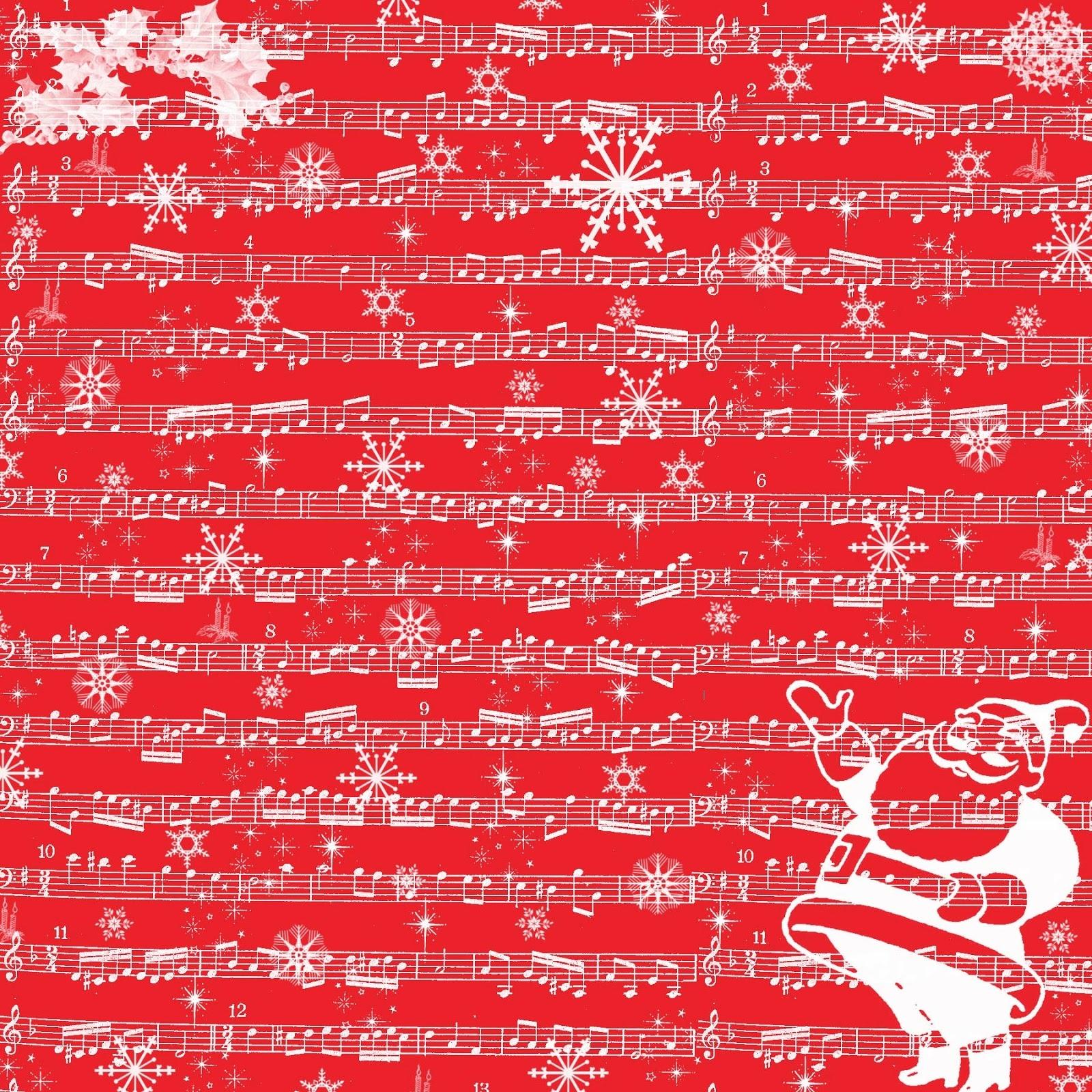 Free Vintage Digital Stamps**: Free Digital Scrapbook Paper - Free Printable Scrapbook Paper Christmas