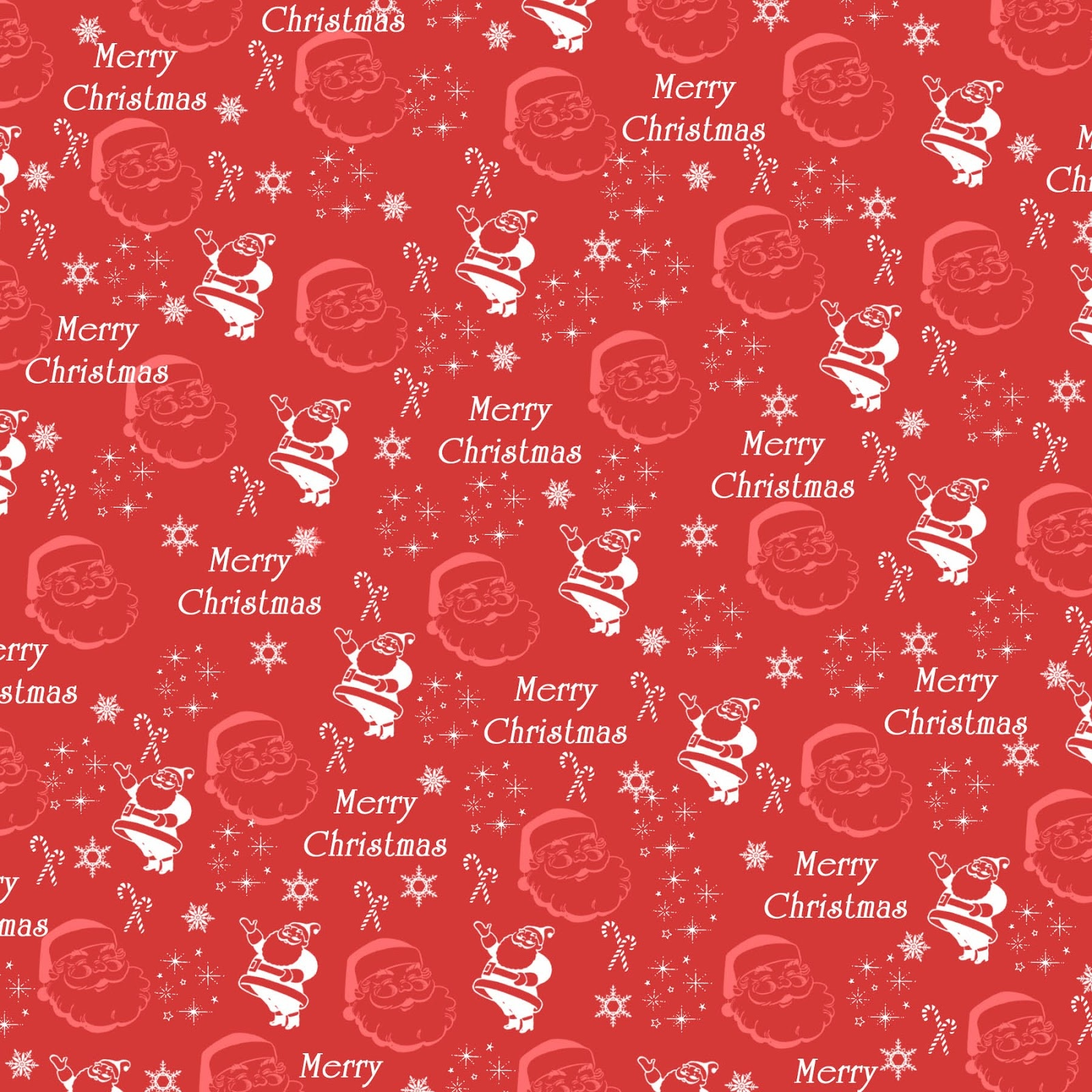 Free Vintage Digital Stamps**: Free Digital Scrapbook Paper - Santa - Free Printable Scrapbook Paper Christmas
