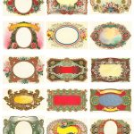 Free Vintage Labels Graphics Collage Sheet | Inspiring Ideas   Free Printable Old Fashioned Labels