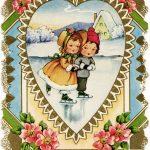 Free Vintage Valentine, Victorian Valentine Printable, Old Fashioned   Free Printable Vintage Valentine Clip Art