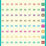Free Wall Posters: Children's Songs, Children's Phonics Readers   Free Large Printable Numbers 1 100