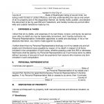 Free Washington Last Will And Testament Template   Pdf | Word   Free Printable Living Will Forms Washington State