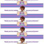 Free Water Bottle Label Printables Doc Mcstuffins (1236×1600) | Doc   Free Printable Doc Mcstuffins Food Labels