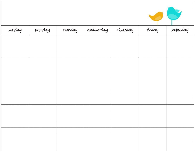 Free Weekly Schedule Maker Blank Work Schedules Template - Free Printable Work Schedule Maker