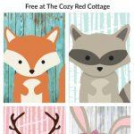 Free Woodland Animal Prints | Babies Room | Woodland Animal Nursery   Free Woodland Animal Printables