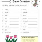 Free Word Scrambles Worksheets | Activity Shelter   Free Printable Word Scramble Worksheets
