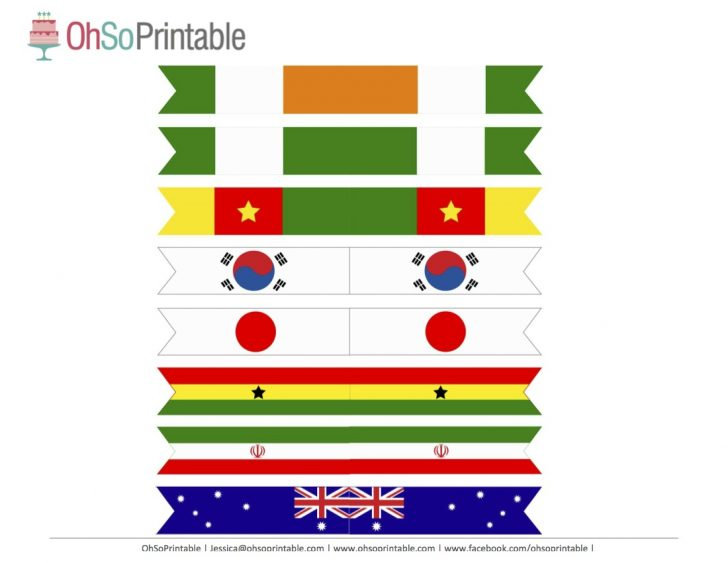 Free Printable Pictures Of Flags Of The World