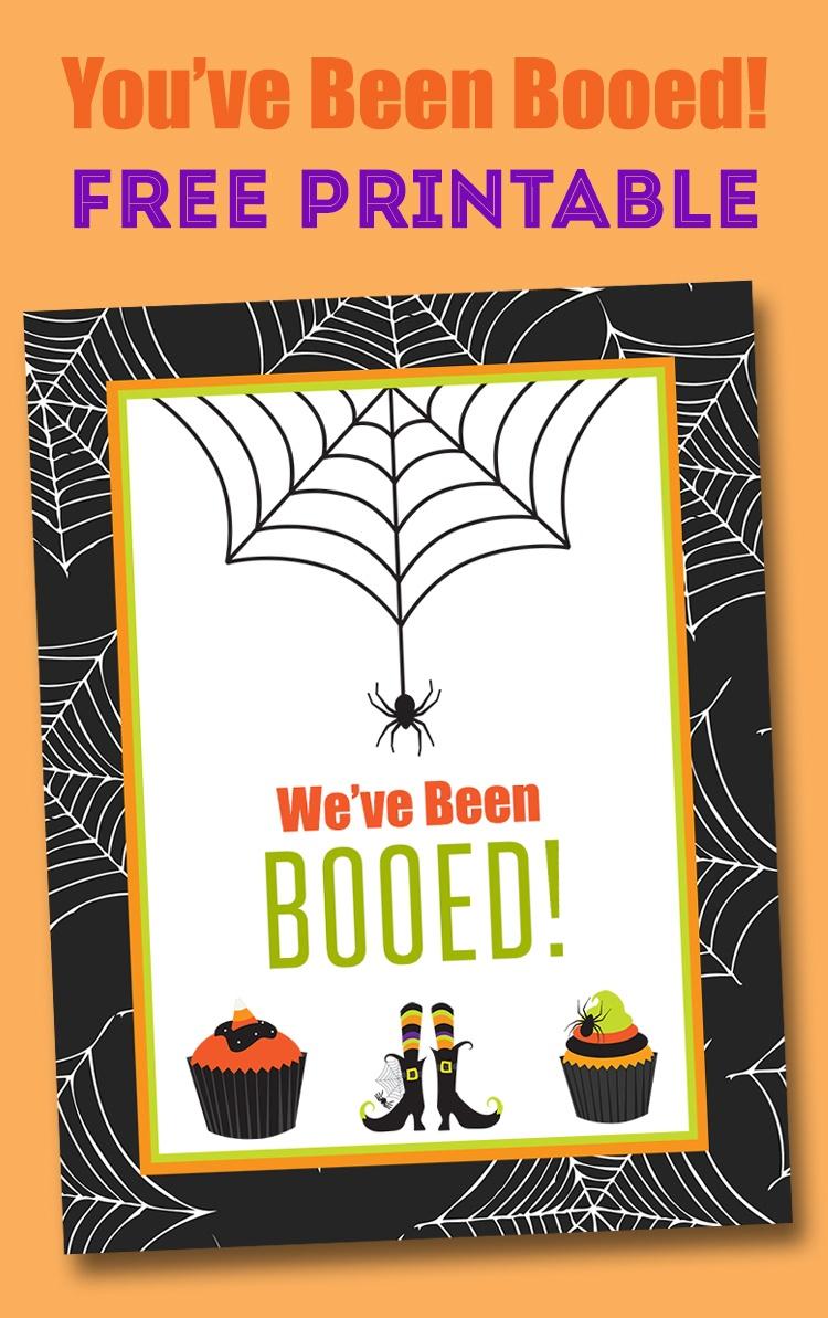 Free You've Been Booed Printable - Neighborhood Boo Tradition   Lil - You Ve Been Booed Free Printable