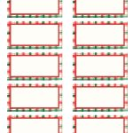 Free+Avery+Christmas+Tag+Label+Template | The Teacher In Me   Free Printable Editable Christmas Gift Tags