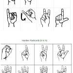 Freebie Friday: Free Printable Asl Alphabet Flashcards Pack | Best   Sign Language Flash Cards Free Printable