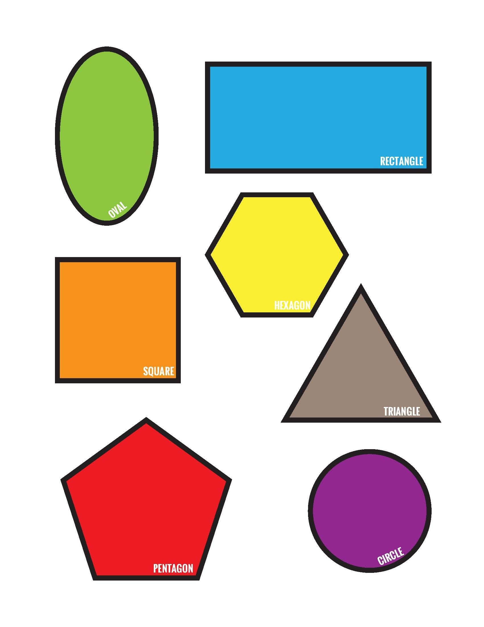 Freebies: Colorful Shapes Matching File Folder Printable Game (Free - Free Printable File Folders For Preschoolers