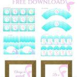 Freebies | Printables | Mermaid Party Decorations, Mermaid Parties   Free Printable Mermaid Thank You Cards