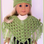 Free+Pattern+Collar+Crochet+American+Girl+Doll | Crochet American   Free Printable Crochet Doll Clothes Patterns For 18 Inch Dolls