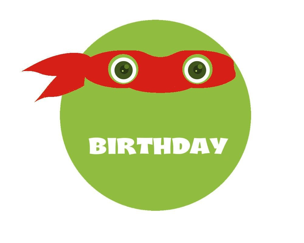 Free+Printable+Ninja+Turtle+Birthday+Banner | Ninja Turtles - Free Printable Ninja Turtle Birthday Banner