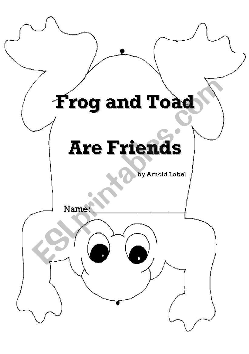 Frog And Toad Are Friends - - Esl Worksheetsdavatgar - Free Frog And Toad Are Friends Printables