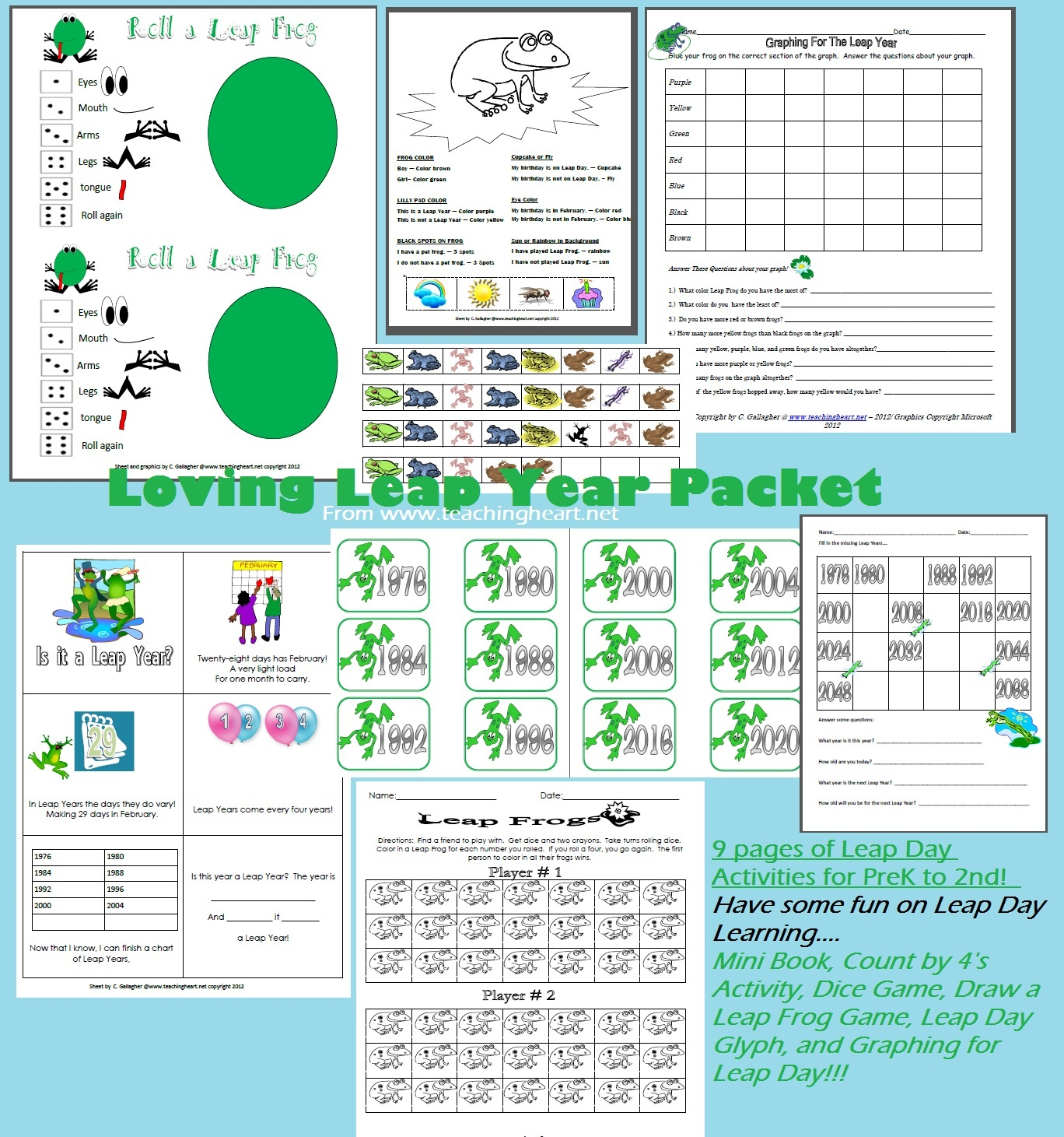 Frog Froggy Unit Theme - Lessons Printables Crafts Ideas To Match - Froggy Goes To School Free Printables