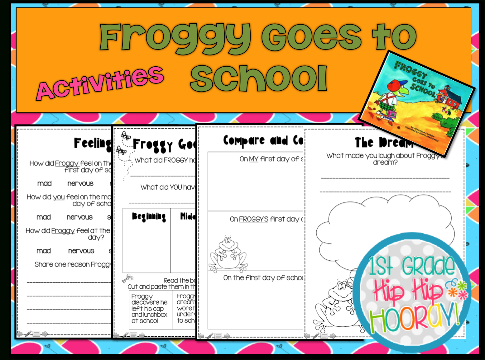 Froggy Goes To School Png Transparent Froggy Goes To School - Froggy Goes To School Free Printables