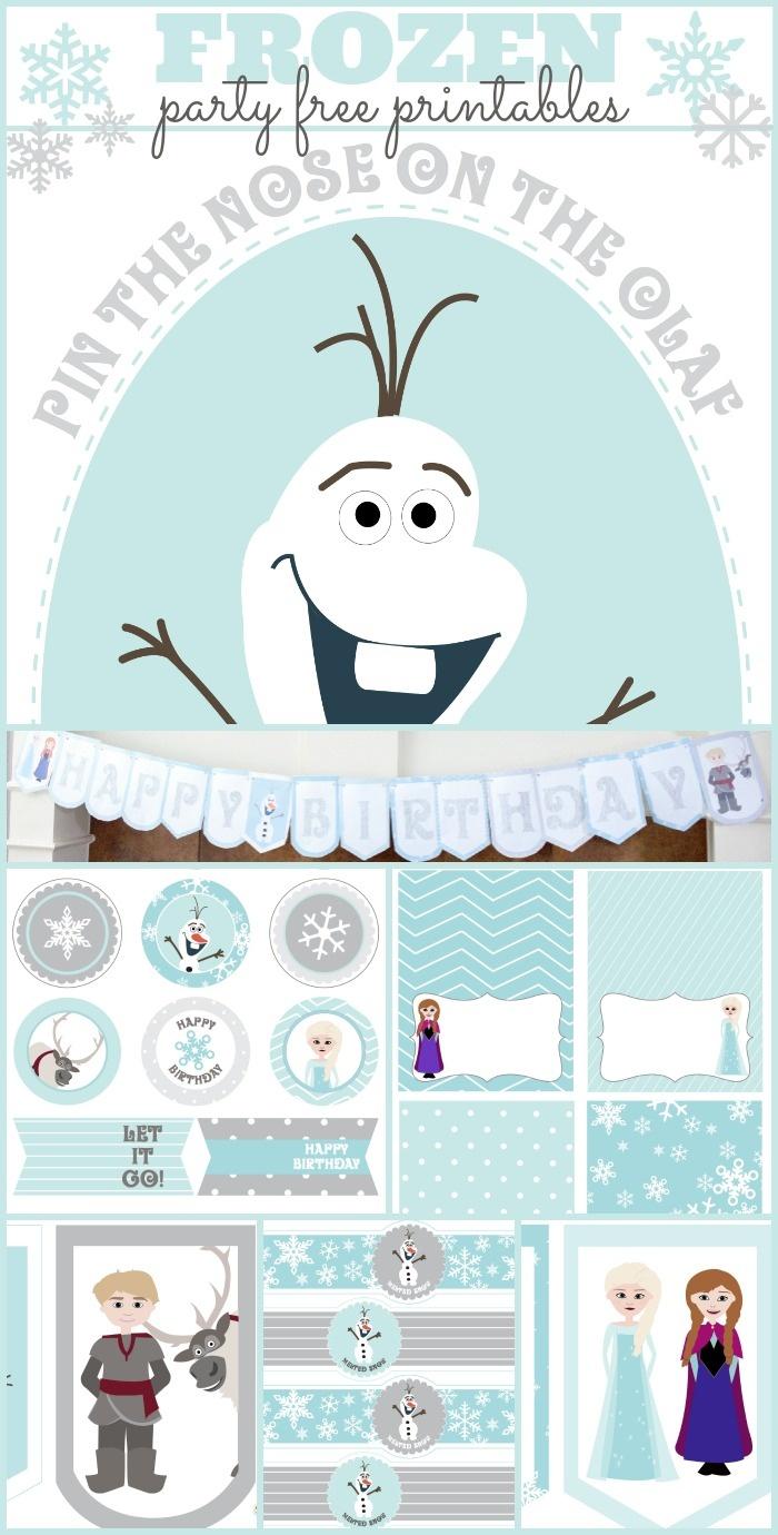 Frozen Birthday Party Printables - Capturing Joy With Kristen Duke - Free Frozen Printables