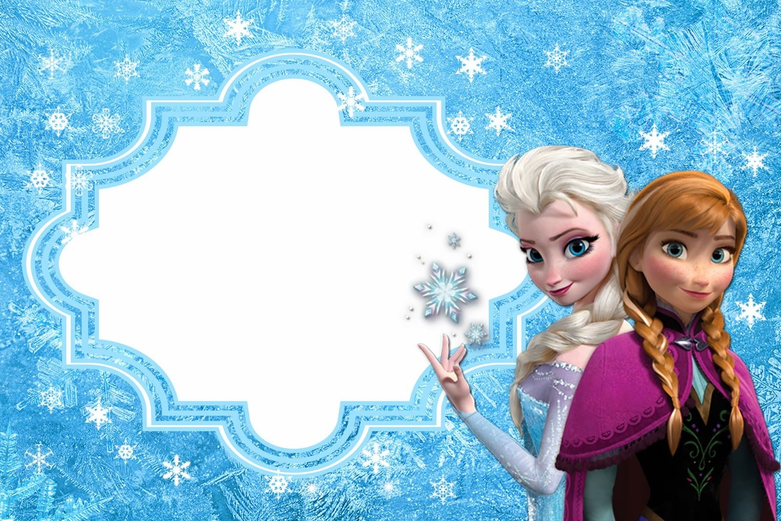 Frozen: Free Printable Cards Or Party Invitations. | Disney's - Free Printable Frozen Birthday Cards