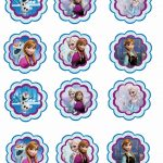 Frozen: Free Printable Toppers.   Oh My Fiesta! In English   Free Frozen Printables