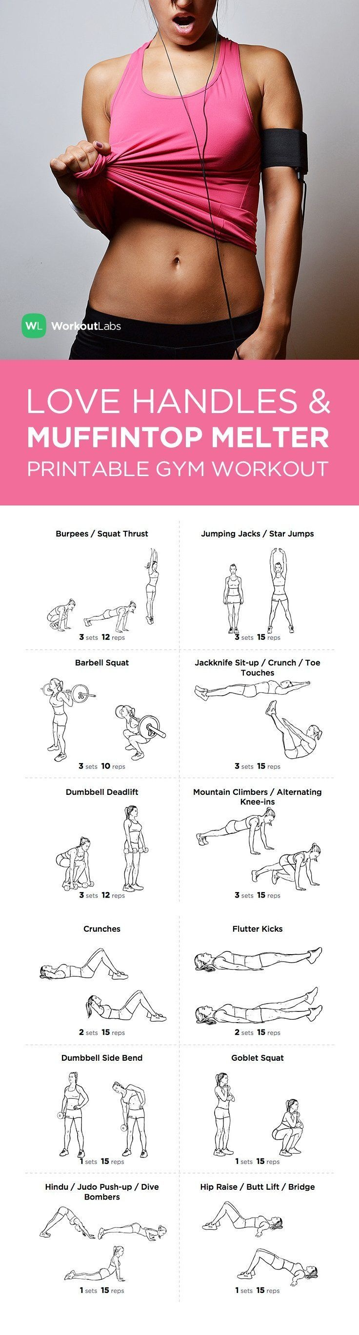 Full Body Workout For Beginners Video Collection | Fitness And - Free Printable Gym Workout Plans