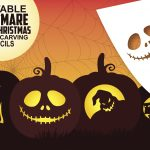 Fun And Free Printable Themed Pumpkin Carving Stencils — All For The   Free Printable Pumpkin Carving Stencils