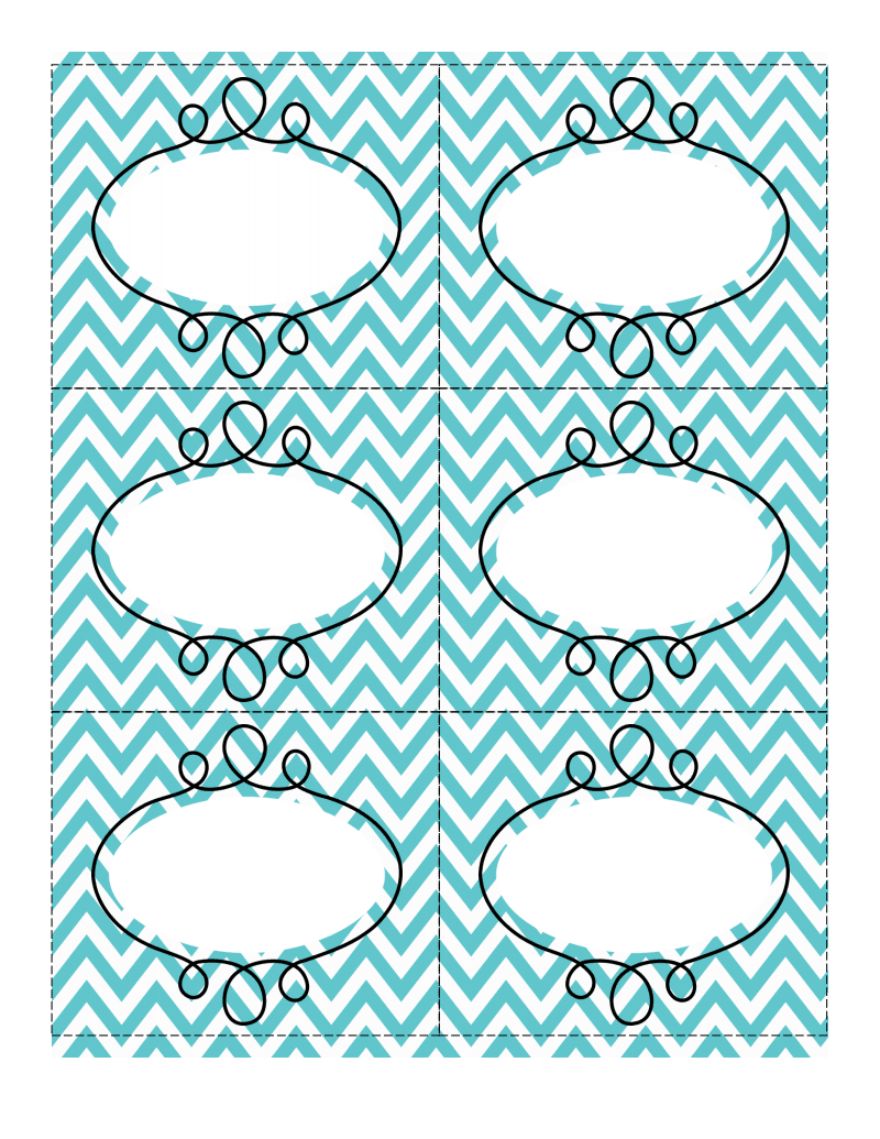 Fun Chevron-Patterned Labels | I Luv Printables | Chevron Labels - Free Printable Chevron Labels