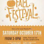 Fun Fall Festival Invitation Flyer Ilustración Vectorial En Stock   Free Printable Fall Festival Invitations
