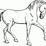 Fun Horse Coloring Pages For Your Kids Printable   Free Printable Horse Coloring Pages