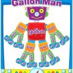 Gallon Man Worksheet Gallon Man Worksheets Photos Gallon Man   Gallon Bot Printable Free