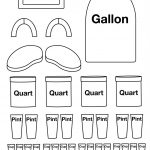 Gallon Robot To Color Put Together. There Is Also One Already   Gallon Bot Printable Free