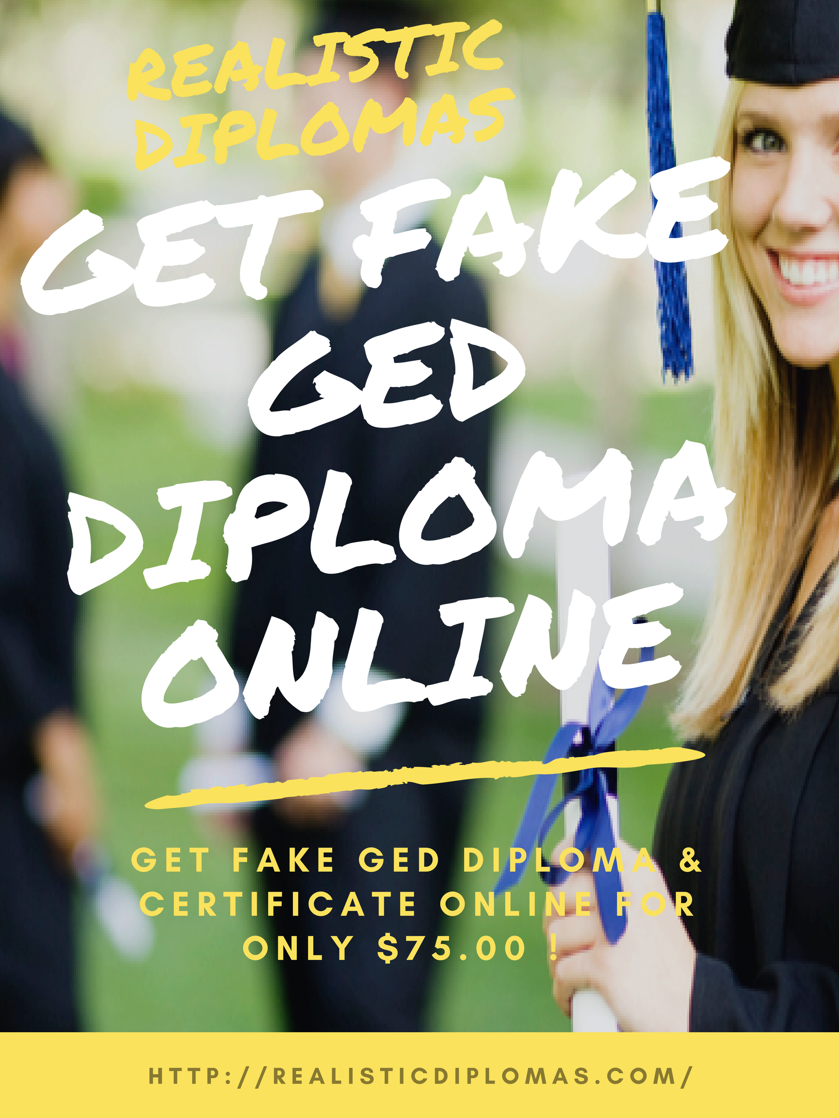 Get Fake Ged Diploma & Certificate Online For Only $75.00! We Try To - Printable Fake Ged Certificate For Free