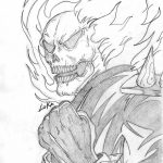 Ghost Rider Coloring Pages Ghost Rider Coloring Pages | Places To   Free Printable Ghost Rider Coloring Pages