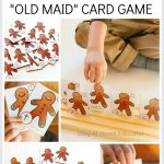 Gingerbread Man Theme Old Maid Card Game | Gingerbread Man   Free Printable Old Maid Card Game
