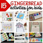 Gingerbread Man Theme Old Maid Card Game   Stay At Home Educator   Free Printable Old Maid Card Game