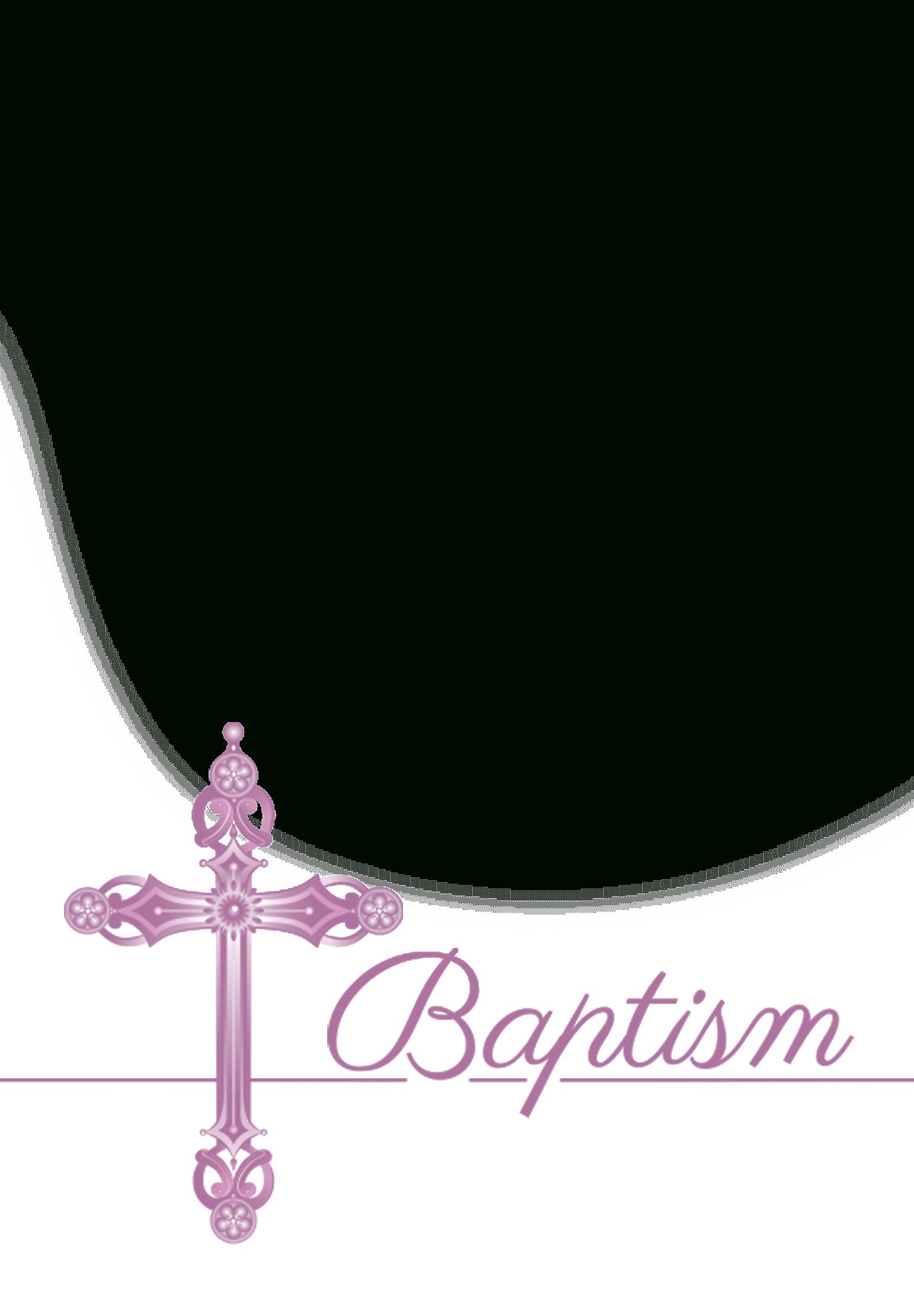 Girl - Free Printable Baptism & Christening Invitation Template - Free Printable Baptism Invitations