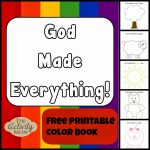 God Made Everything Colors Book (Printable) | Kid Blogger Network   Bible Lessons For Toddlers Free Printable