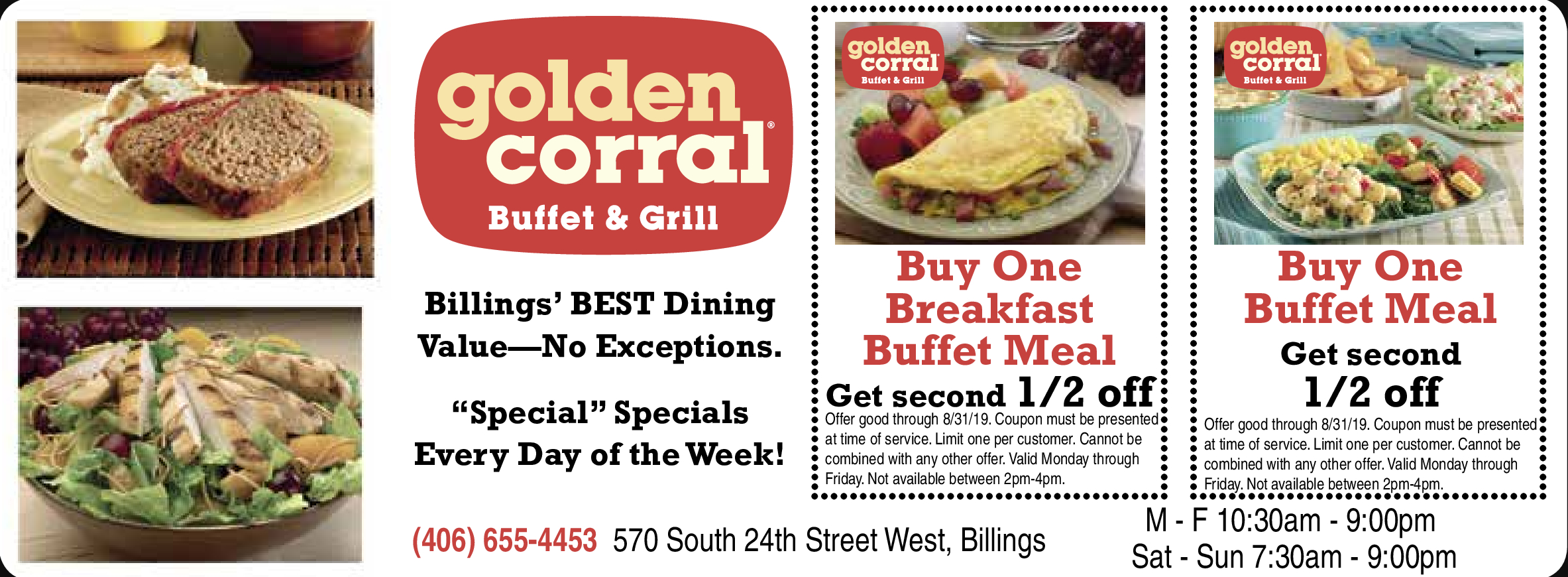Golden Corral Buffet & Grill Coupons - Golden Corral Coupons Buy One Get One Free Printable