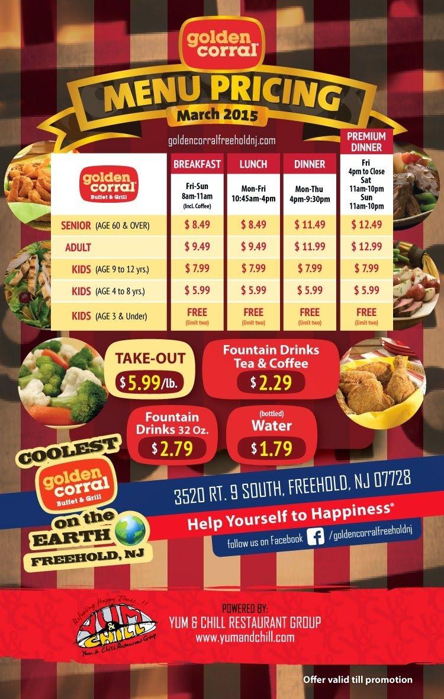 Golden Corral Coupons | Coupon | Golden Corral, Golden Corral - Golden Corral Coupons Buy One Get One Free Printable