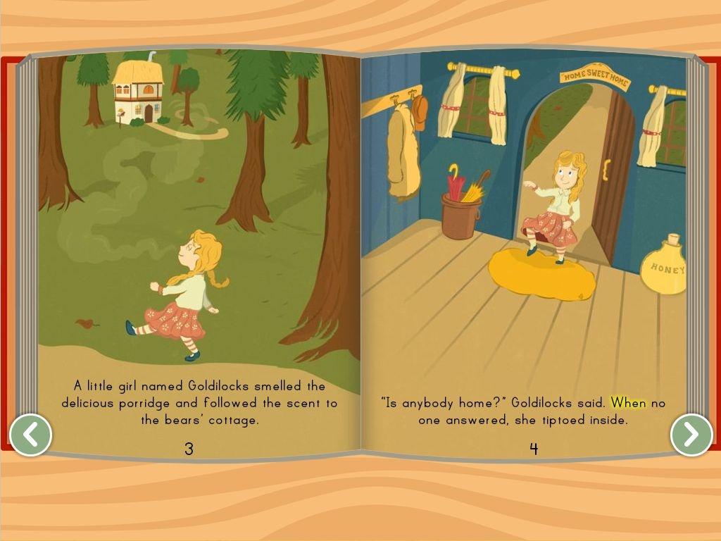 Goldilocks And The Three Bears Story   Story   Education - Free Printable Goldilocks And The Three Bears Story