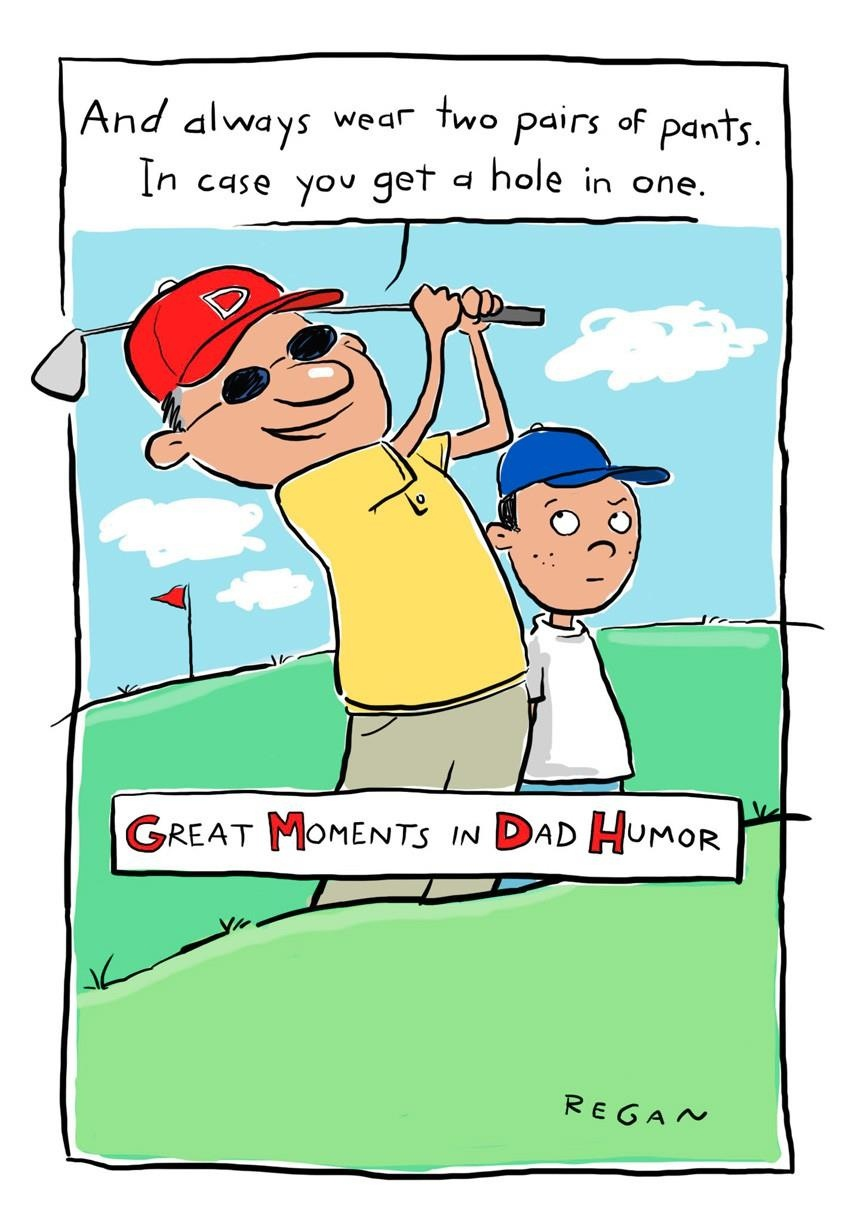 Golf Humor Funny Father's Day Card - Greeting Cards - Hallmark - Hallmark Free Printable Fathers Day Cards