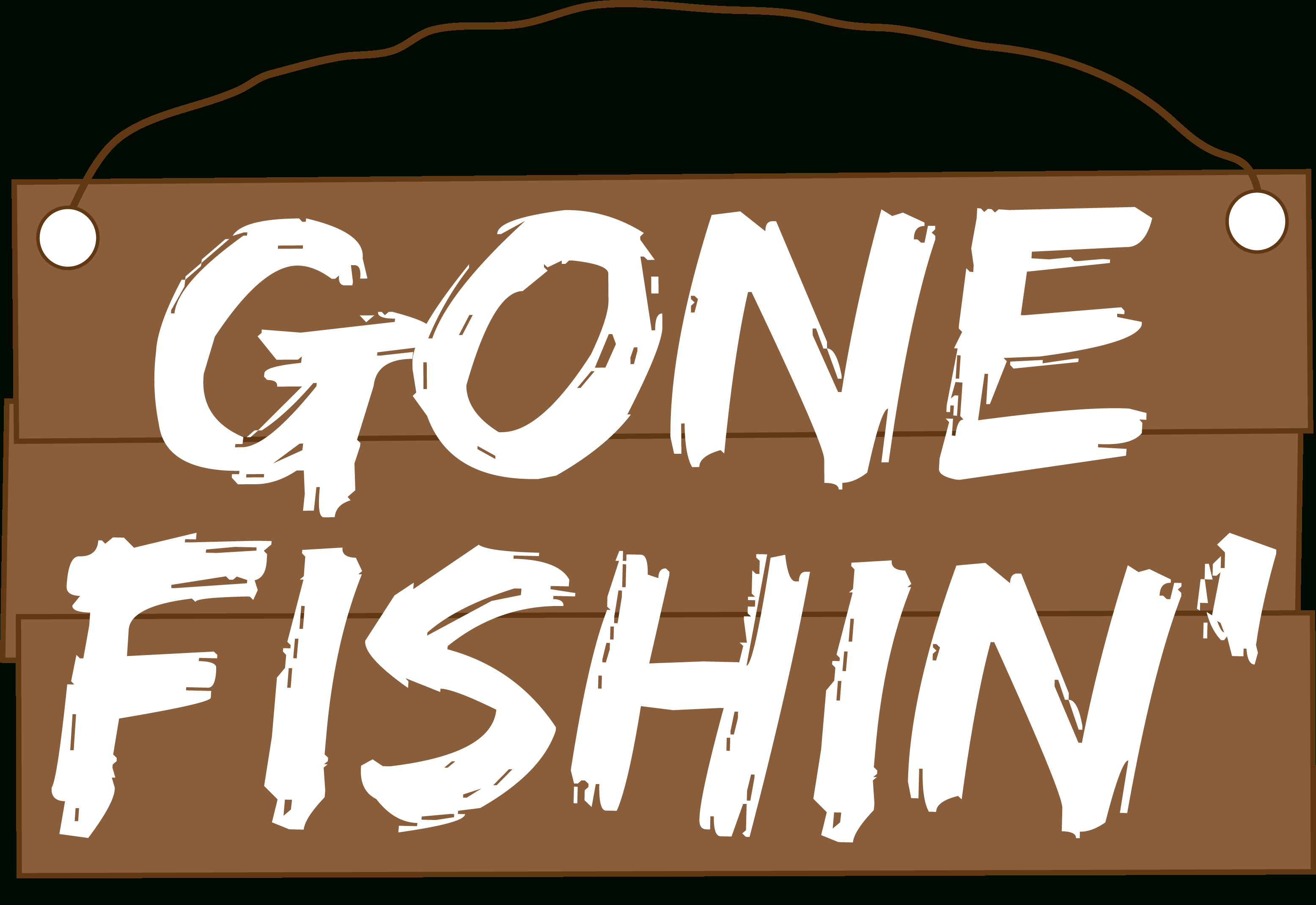 Gone Fishing | Western Rifle Shooters Association - Free Printable Gone Fishing Sign