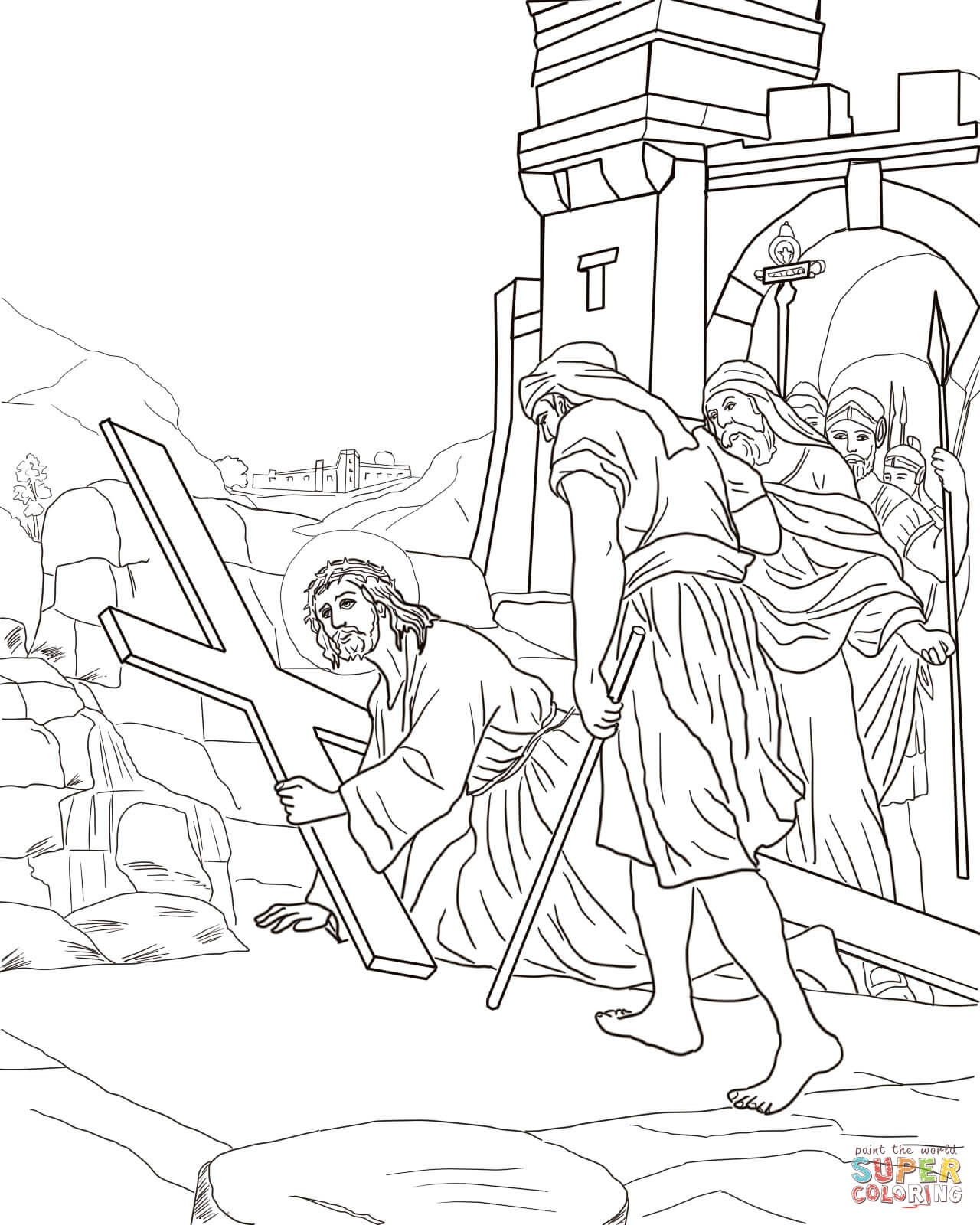 Good Friday Coloring Pages | Free Coloring Pages - Free Printable Good Friday Coloring Pages