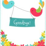 Goodbye From Your Colleagues   Good Luck Card (Free) | Greetings Island   Free Printable We Will Miss You Greeting Cards