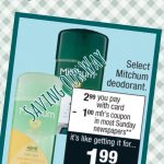 Grab Your Mitchum Deodorant @ Cvs For Just $1.99! | Couponing Blogs   Free Printable Coupons For Mitchum Deodorant