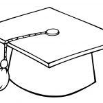 Graduate Cap Coloring Page | Free Printable Coloring Pages   Graduation Cap Template Free Printable