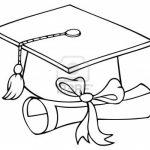 Graduation Cap Coloring Page | Graduation Cap Coloring Page   Graduation Cap Template Free Printable