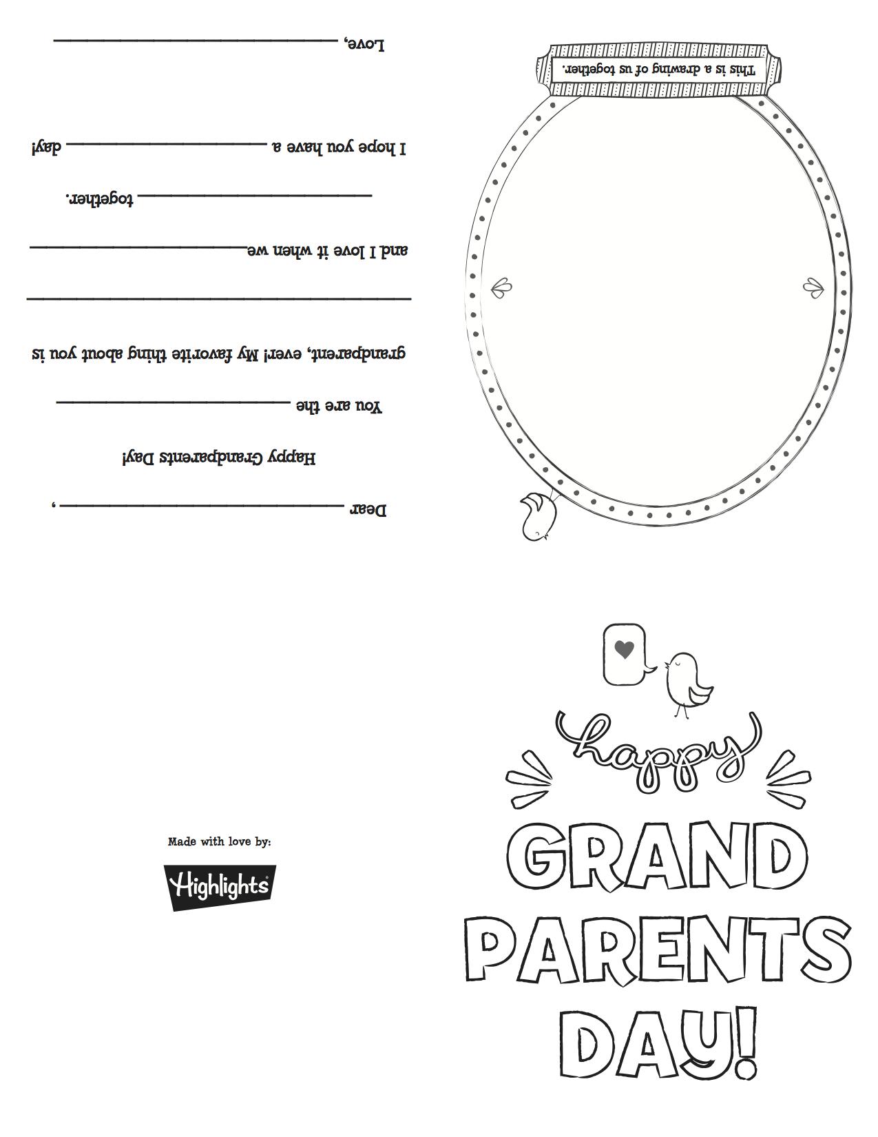 Grandparentsdaycard_Copy | Grandparents Day | Grandparents Day - Grandparents Day Cards Printable Free